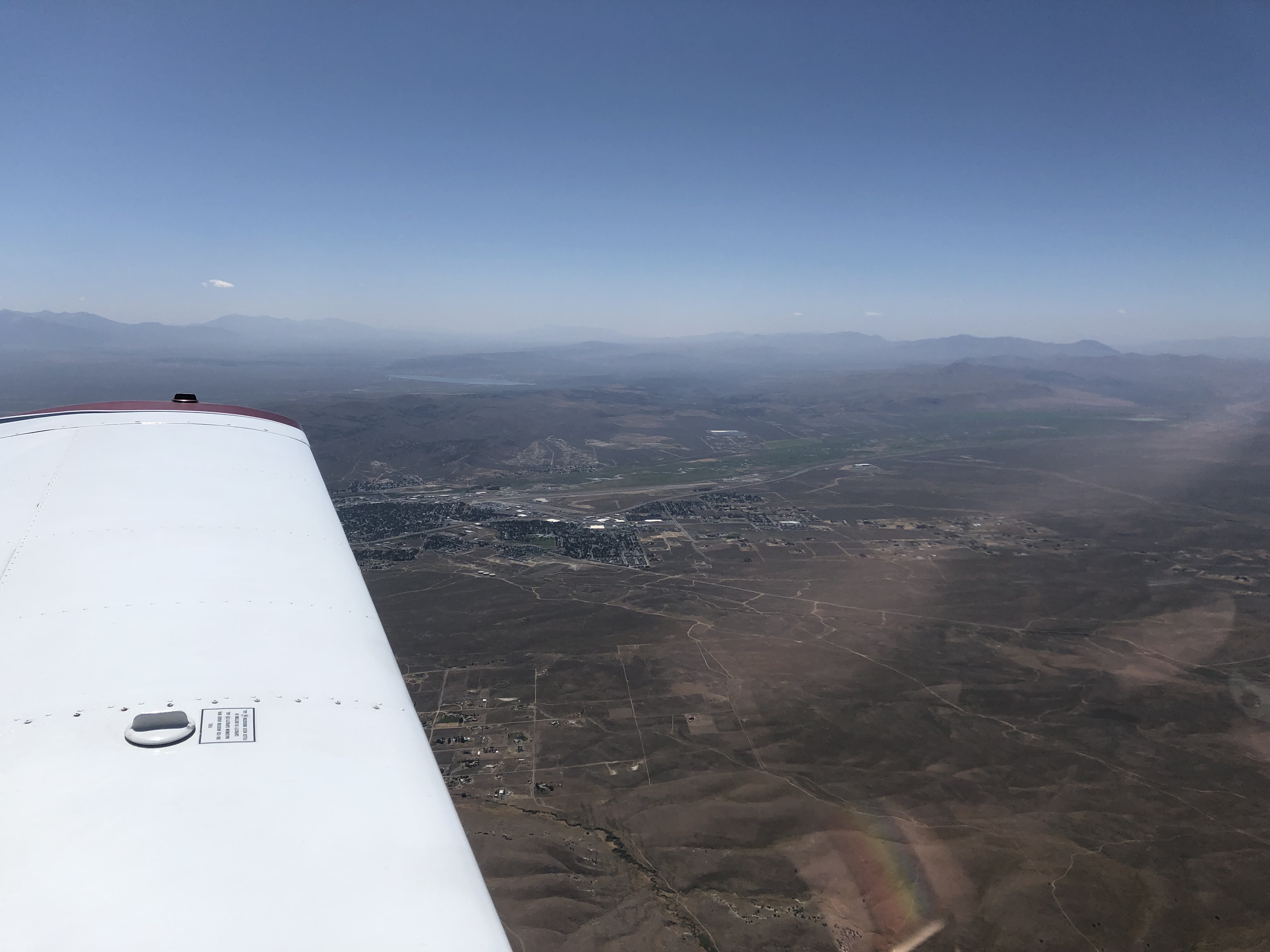 Elko from the air
